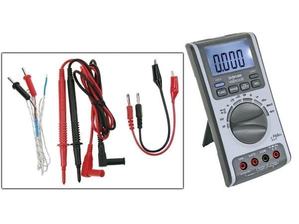 Digitale multimeter 5 in 1 - Multimeter - Temperatuur - Vochtigheid - Geluid - Lux